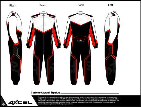 CIK Axcel AX5 Suit WBR