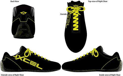 Axcel Ergo Low Cut Shoes