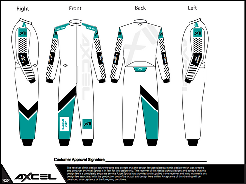 CIK Axcel Xtreme II Suit WTB