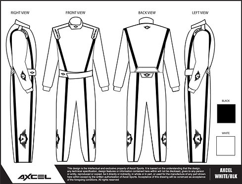 CIK Axcel Dallara Suit