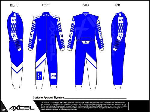 CIK Axcel Xtreme II Suit BW