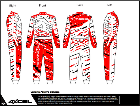 CIK Axcel Torino Suit RWB