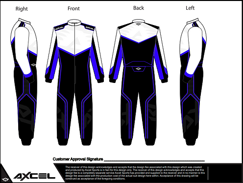 CIK Axcel AX5 Suit WBB