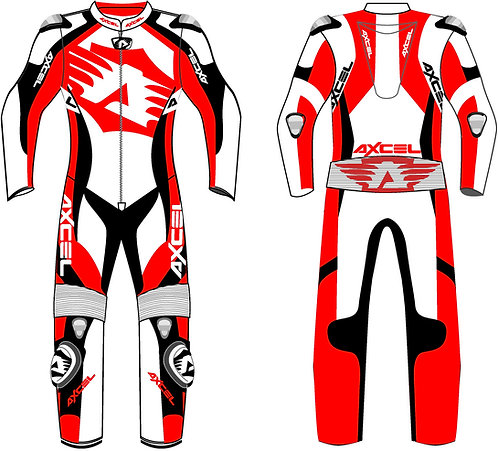 Axcel Logo Motorcycle Suit