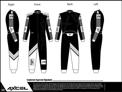 CIK Axcel Xtreme II Suit BGW