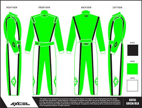 CIK Axcel Dallara Suit