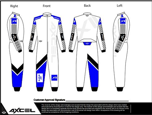 CIK Axcel Xtreme II Suit WBB