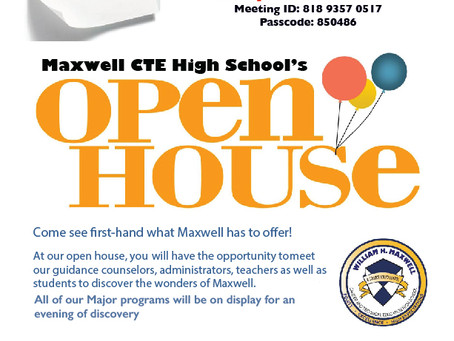 Maxwell Open House 2021