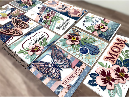 You Are Enough Card Workshop Using Your Scraps