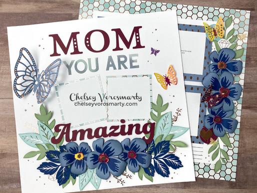 Love You Mom Scrapbooking Workshop