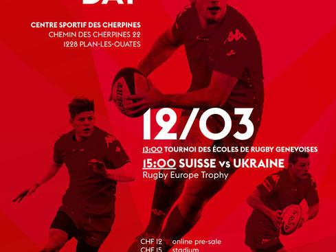 U 16 allo Suisse Rugby Day ma per la FSR non esiste...