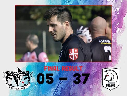 Buona Prestazione del Rugby Lugano a Monthey