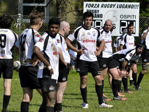 Edimen Rugby Lugano : finita la serie positiva
