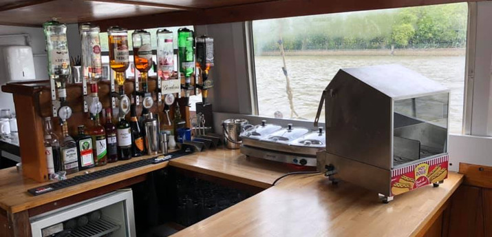 Boat Party on the M V Henley