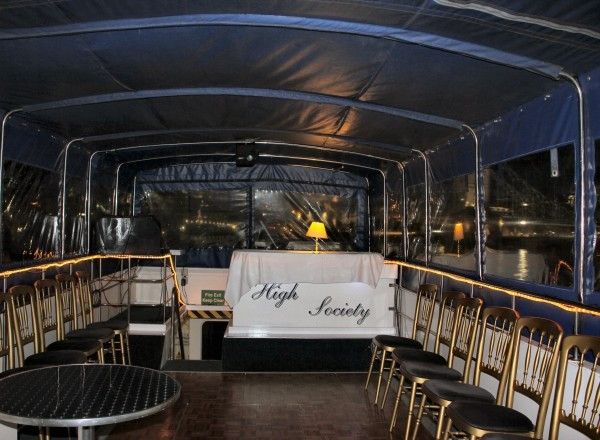 High Society Thames River Boat