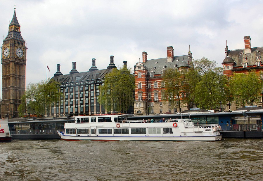 The London Rose Thames River Boat for Hire