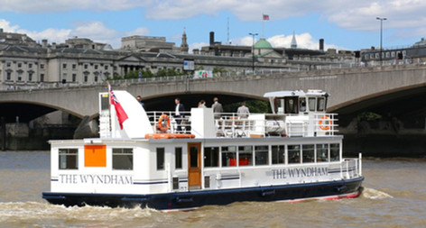 The MV Wyndham Thames River Boat for Hire