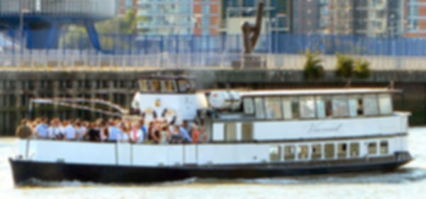 The Viscount Thames River Boat for Hire.