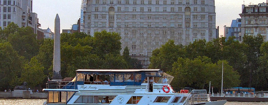 High Society Thames River Boat for Hire
