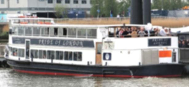 MV Pride of London Thams River Boat