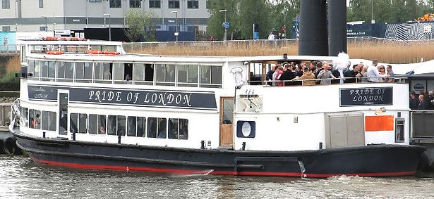 MV Pride of London Thams River Boat