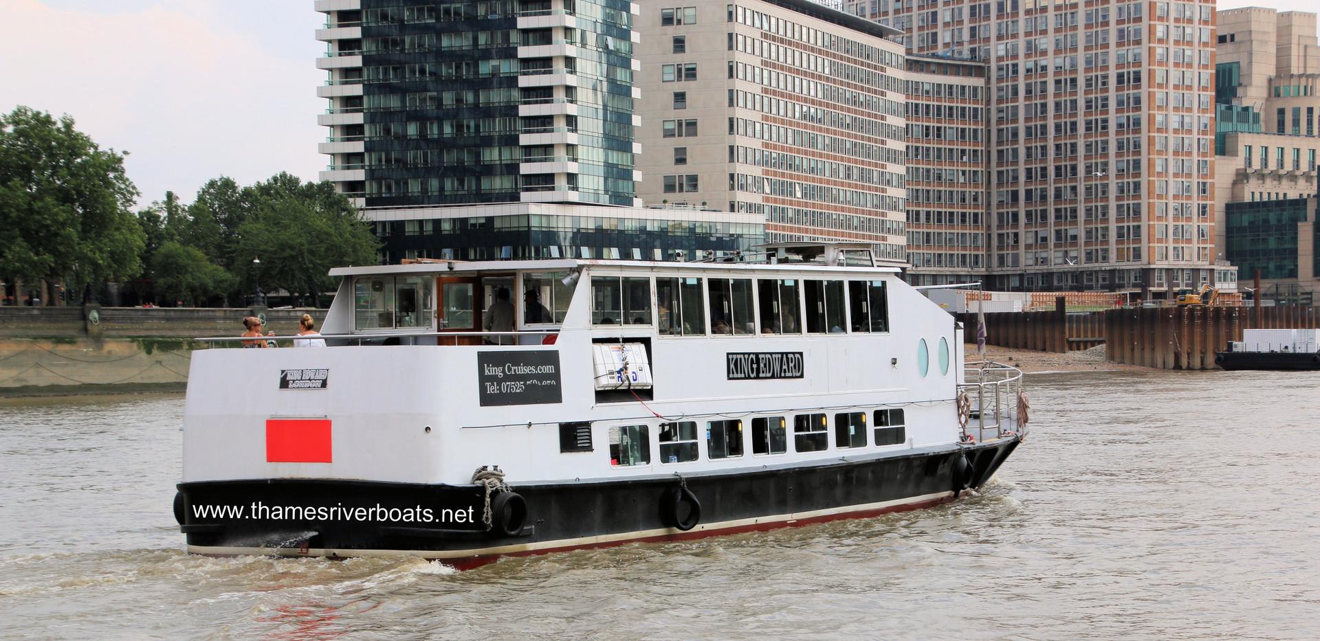 King Edward Thames River Boat for Hire