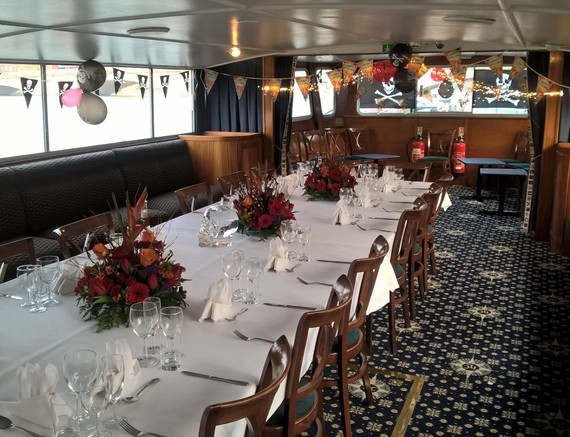 Another London River party boat