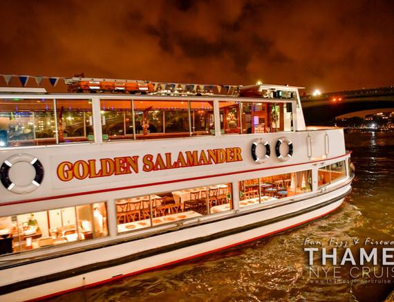 The Golden Salamander London River Party