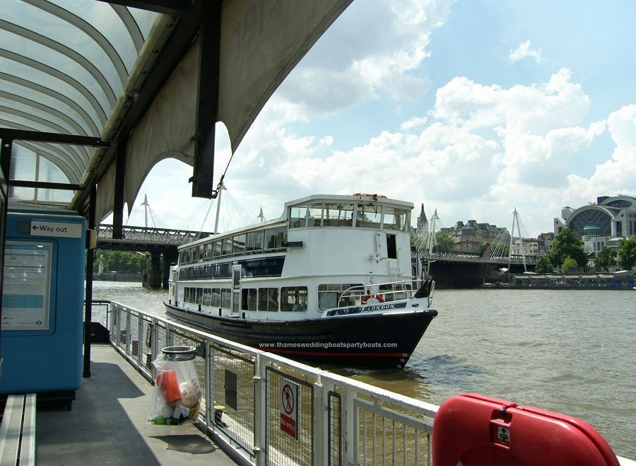 Pride of London Thames River Boat