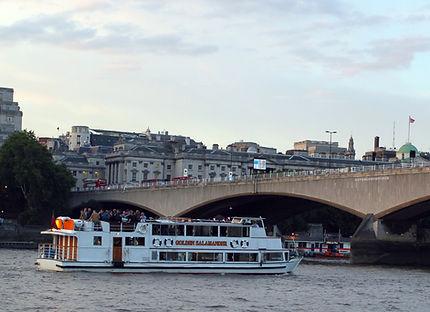 M V Golden Salamander London River Party Boats