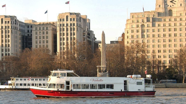 The MV Vallula Thames River Boat for Hire