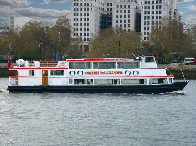 A London River party boats