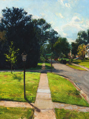 Neighborhood Street, Late Summer