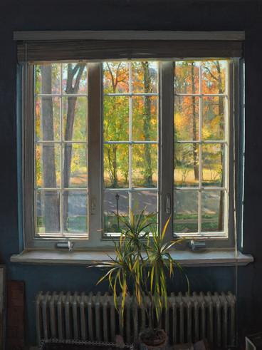Blue Room Window