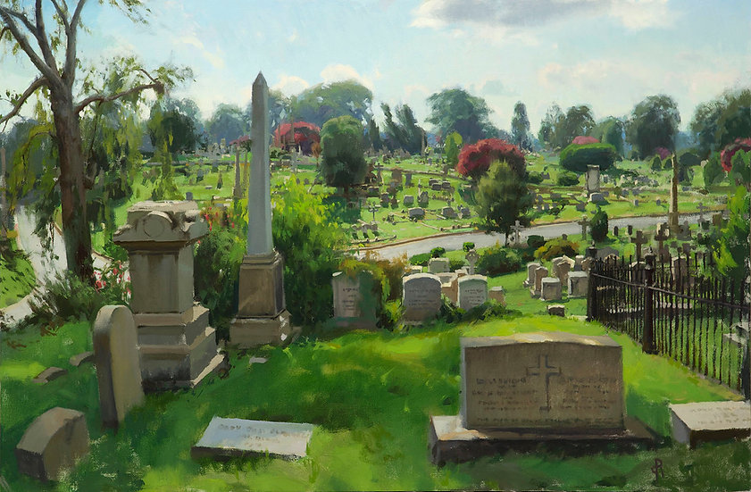 Cemetery in Summer