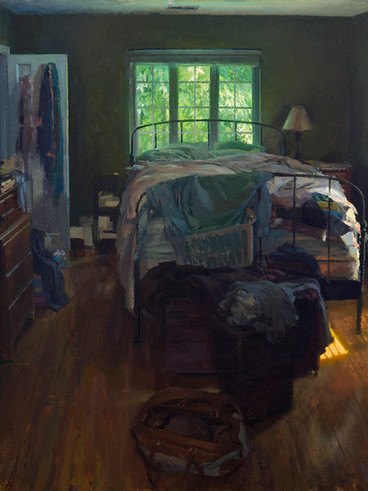Bedroom in Afternoon Light