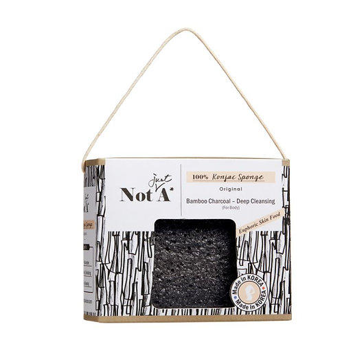 Bamboo Charcoal - Konjac Body Sponge