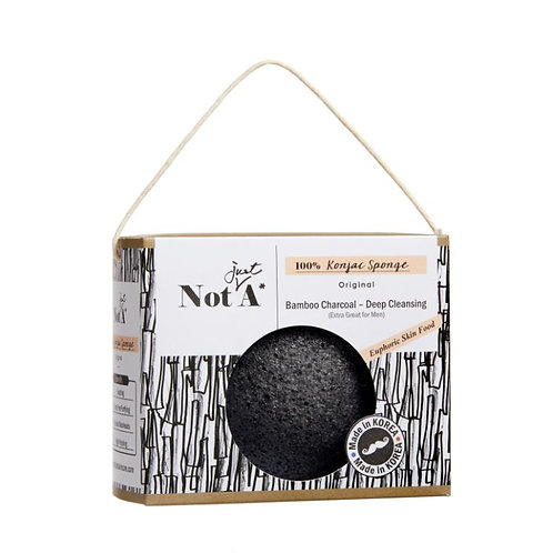 Bamboo Charcoal - Konjac Face Sponge