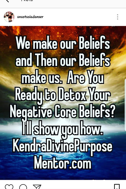 Detox Negative Core Beliefs 4 Week Course