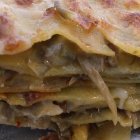Ricetta donata da: Chef Geronimo Poddesu - Millefoglie con carciofi