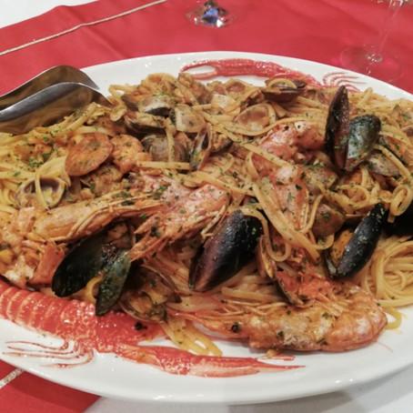 Ricetta donata da: Chef Davide Valloni - Linguine allo scoglio