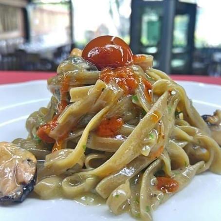 Ricetta donata da: Chef Antonio Borrelli - Fettuccine in salsa di Pane e cozze