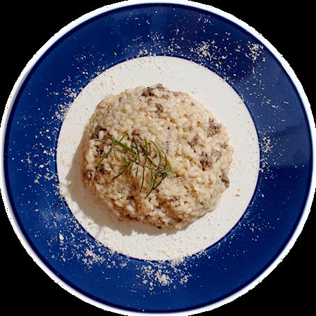 Ricetta donata da: Confraternita del risotto alla saonarese - Risotto alla saonarese