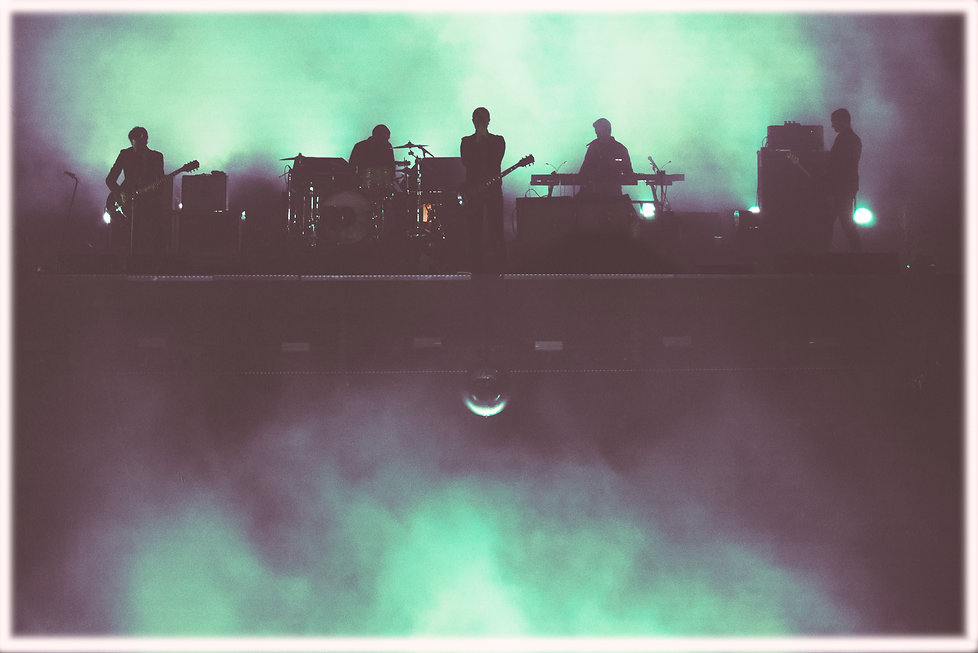 Interpol, Synesthsia, Corgam, Experimental Concert Photography