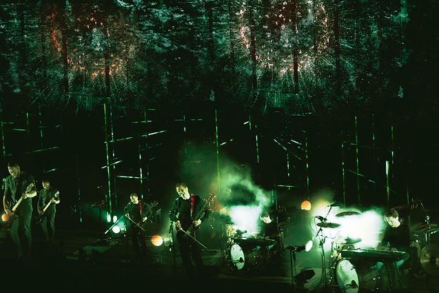 Sigur Ros, Jonsi, Corgam, The Greek Theatre Berkeley, Overlay, Superimposed, Experimental Photography, Postproduction, Digital Photography, Color Correction, Color Grader, Colorist, Synesthesia, Double Exposure