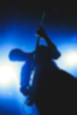Guitarist, Guitar Player Silhouette, Backlit, Contrast, Corgam, Synesthesia