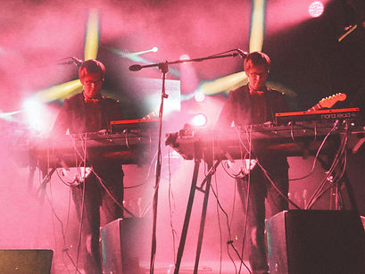 Public Service Broadcasting; Corgam; Synesthesia; Concert Photography; Experimental Photography; Double Exposure.