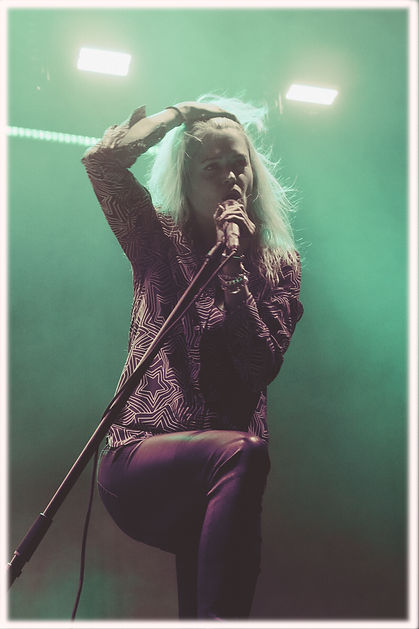 The Kills, Alison Mosshart, Synesthesia, Corgam, Experimental Concert Photography