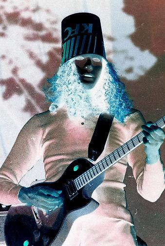Buckethead, Synesthesianow, Corgam, Music Photojournalist, Experimental Photography
