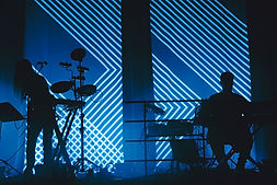 Sohn, Blues, Silhouette, Contrast, Backlit, Contour, Music Photography, Shadows, Incognito, Corgam, Synesthesia